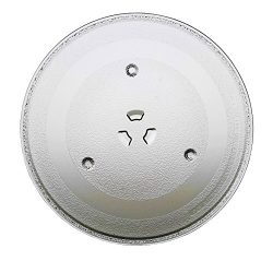GE WB49X10097 Microwave Glass Turntable Plate Tray 11 1/4″