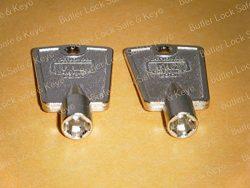 Freezer Door Keys Frigidaire Kenmore SEARS Whirlpool Refrigerator m (2 + Keys