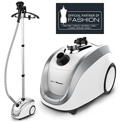 PurSteam – Official Partner of Fashion – Full Size Steamer for Clothes, Garments, Fa ...