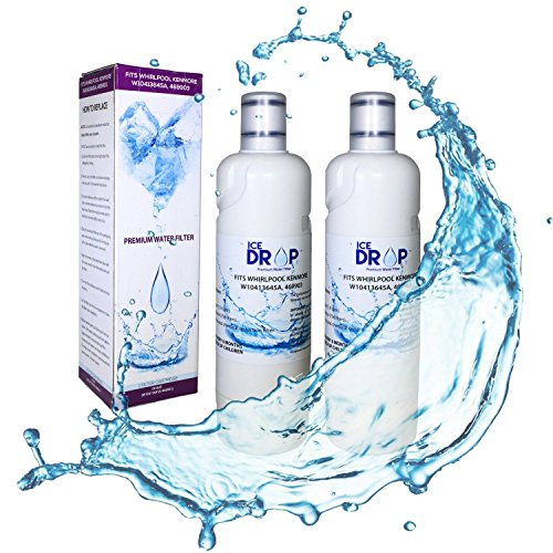 Ice Drop Whirlpool Refrigerator Water Filter W10413645a