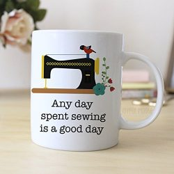 Sewing Quilting Coffee Mug