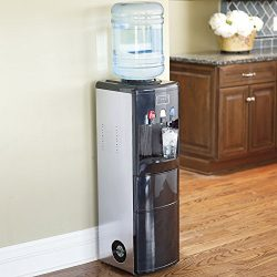 DELLA 048-GM-48200 2-in-1 Multi-Function Dispenser with Built-In Ice Maker Machine Watercooler,  ...