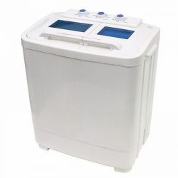 Washer 8 – 9lb Portable Mini Small RV Dorms Compact Washing Machines Spin Dryer Laundry
