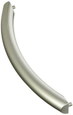 Qualtex Silver Microwave Oven Door Handle For Samsung ME16K3000AS, SMH1611SE, SMH1713S DE94-0240 ...