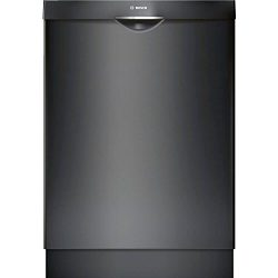 Bosch SHS863WD6N 300 Series Built In Dishwasher with 5 Wash Cycles, 16 Place Settings, 3rd Rack, ...