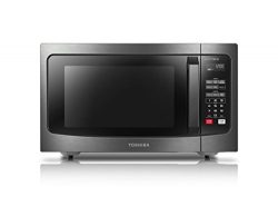 Toshiba EM245A5C-BS Microwave Oven with Inverter Technology and Smart Sensor, 1.6 Cu.ft, 1250W,  ...