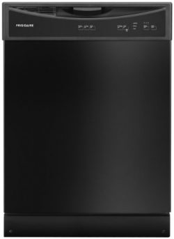 Frigidaire FFBD2406NB 24″ Full Console Built In Dishwasher with 14 Place Settings 3 Wash C ...