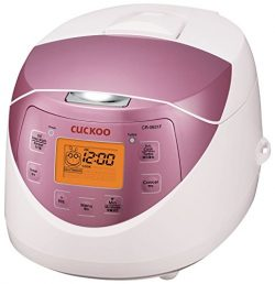 Cuckoo Electric Heating Rice Cooker CR-0631F (Pink)