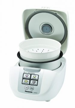 """Panasonic SR-DF101 5-Cup (Uncooked) One-Touch """"Fuzzy Logic"""" Rice Cooker"""