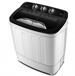 Portable Washing Machine TG23 – Twin Tub Washer Machine with Wash and Spin Cycle Compartments by ...