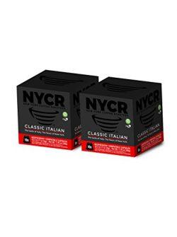 20 New York Coffee Roasters Nespresso Compatible Capsules – Classic Italian