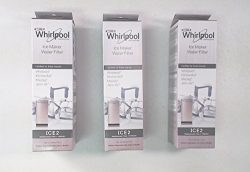 3 X Whirlpool Ice Maker Water Filter – F2WC9I1 ICE2