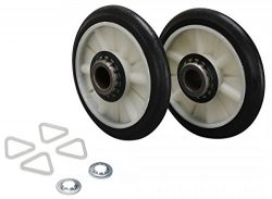 EXPWE3X82 GE Washer/Dryer Combo Drum Roller (Replaces WE3X82 AP2042538 276414 AH267872 EA267872  ...