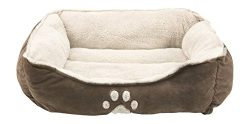 Sofantex Pet Bed – Fit Medium-Large Sized Dog / Fat Cat, Machine Washable, Ultra Soft Pet  ...
