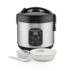 Hamilton Beach Rice & Hot Cereal Cooker, 4-Cups uncooked resulting in 8-Cups (Cooked), with  ...