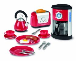 Casdon Morphy Richards Kitchen Set Toy – Kettle, Toaster and Coffee Machine