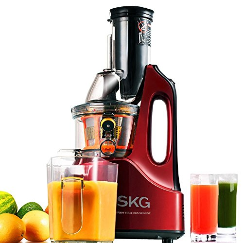 Slow Juicer Reddit : SKG Wide Chute Anti-Oxidation Slow Masticating Juicer (240W AC Motor, 60 RPMs, 3