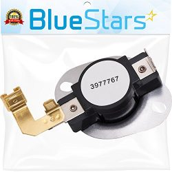 3977767 Dryer Thermostat Replacement part by Blue Stars – Exact Fit for Whirlpool & Ke ...
