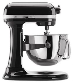 KitchenAid KP26M1XOB 6 Qt. Professional 600 Series Bowl-Lift Stand Mixer – Onyx Black