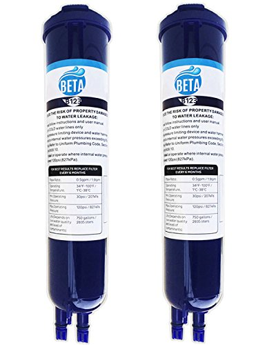 Beta 2 Pack Water Filter Compatiable With Whirlpool