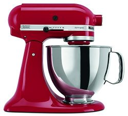 KitchenAid RRK150ER  5 Qt. Artisan Series – Empire Red (Certified Refurbished)