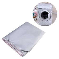 WINOMO Washing Machine Cover Waterproof washer Cover for Front Load Washer/Dryer