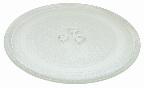 Microwave Glass Turntable Plate 9.5″ or 245mm Designed to Fit Several Models