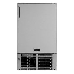 "Whynter MIM-14231SS 14"" Undercounter Automatic Marine Ice Maker with 23lb Daily Output, St ..."