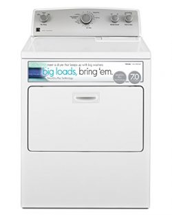 Kenmore 75132 7.0 cu. ft. Gas Dryer with SmartDry Plus Technology in White, includes delivery an ...