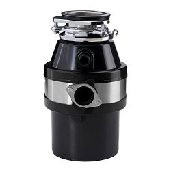 KUPPET Garbage Disposals ,1.0 HP 2600 RPM Continuous Food Feed ,For Household Home Kitchen, Larg ...