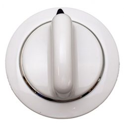 Dryer Knob, White, for General Electric, AP5805160, PS8769912, WE01X20374