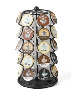K-Cup Carousel – Holds 35 K-Cups in Black