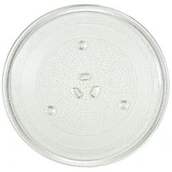 11.25″ GE and Samsung -Compatible Microwave Glass Plate / Microwave Glass Turntable Plate  ...