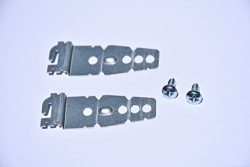 2-Pack Dishwasher Mounting Bracket w/screws | Universal Brackets for Kenmore Kitchenaid Frigidai ...