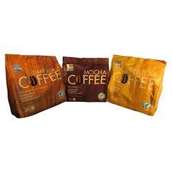 60 Hema Mocha Coffee Pads/Pods -3 Pack Bundle for Senseo Style Machines- Dutch Favorite Coffee ( ...