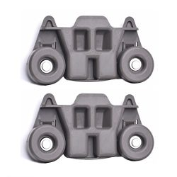 W10195416 – NEW UPGRADED Replacement Part for Lower Dishwasher Wheel (2-PACK) – Ideal for GE/Whi ...