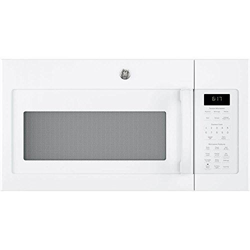 Ge 1 7 Cu Ft White Over The Range Microwave Oven