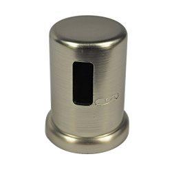 Danco Kitchen Dishwasher Air Gap Cap, Brushed Nickel, 10567