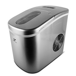 YONGTONG Ice Maker, Countertop Automatic Portable Icemaker Machine, Producing 26Lbs(12Kg) per Da ...