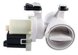Podoy W10130913 Washer Drain Pump Motor Assembly Replacement for Whirlpool W10730972, 8540024, W ...