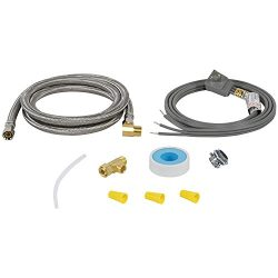 Certified Appliance Accessories Braided Stainless Steel Dishwasher Installation Kit, 6ft