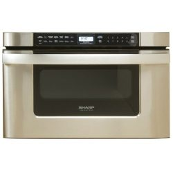 Sharp KB-6524PS 24-Inch Microwave Drawer Oven, Stainless steel