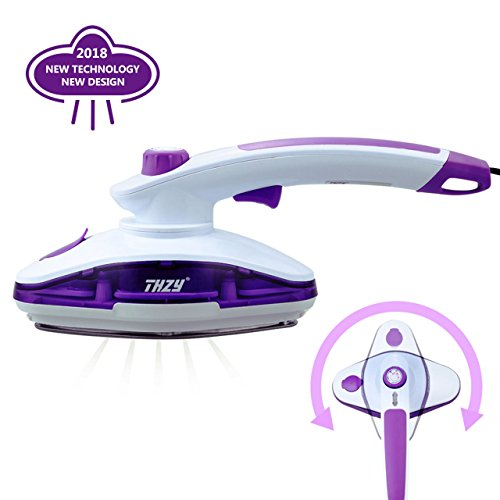 THZY Clothes Steamer Handheld Garment Fabric Steamer [Dual-use for Steamer & Iron] Best Fast ...