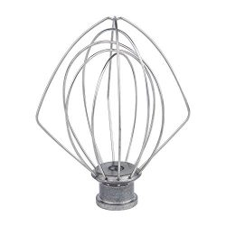 PAKIMARK K45WW Wire Whip for Tilt-Head Stand Mixer for KitchenAid, Stainless Steel Egg Cream Sti ...
