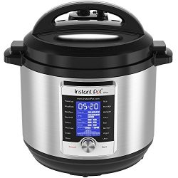 Instant Pot Ultra 8 Qt 10-in-1 Multi- Use Programmable Pressure Cooker, Slow Cooker, Rice Cooker ...