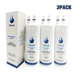 Glacial Pure Refrigerator Water Filter Replacement for EDR1RXD1, W10295370A, W10295370, Filter 1 ...