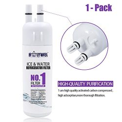 THINKPUR White10295370 Refrigerator Water Filter For Whirlpool Refrigerator Water Filter 1 W1029 ...