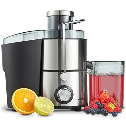 VonShef Juicer Machine, Fruit Juice Maker, Whole Fruit Juice Extractor, Centrifugal Juicer, Frui ...