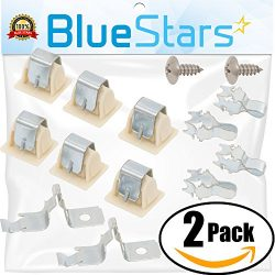 Ultra Durable 279570 Dryer Door Latch Strike Kit by Blue Stars – Exact Fit for Kenmore Whi ...