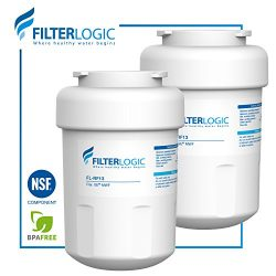 FilterLogic MWF Refrigerator Water Filter Replacement for GE MWF SmartWater, MWFA, MWFP, GWF, GW ...